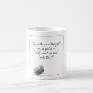 Crop talk coffee mug
