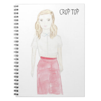 CROP TOP NOTEBOOK