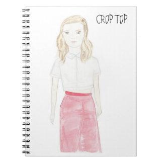 CROP TOP NOTEBOOK