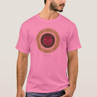 Cropped Circles w/Patterns (Green, Brown, Pink) T-Shirt