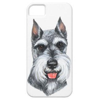 Cropped Ear Schnauzer iPhone SE/5/5s Case