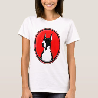 Cropped Mantle Great Dane T-Shirt