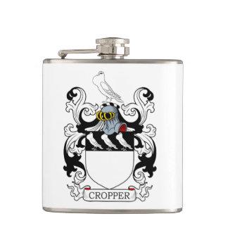 Cropper Coat of Arms I Hip Flask