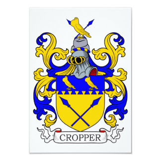 Cropper Coat of Arms II Personalized Invitations