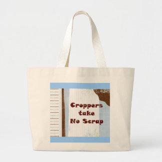 Croppers Take No Scrap - Tote Bag