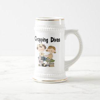 Cropping Divas 18 Oz Beer Stein