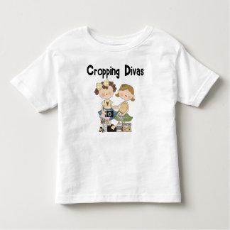 Cropping Divas Toddler T-shirt