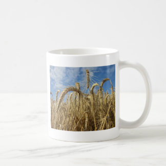 Crops of Cereals and Summer Sky Coffee Mug