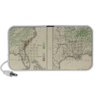 Crops Statistical US Lithograph Travelling Speaker