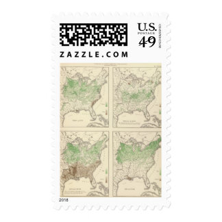 Crops, Statistical US Lithograph Stamp