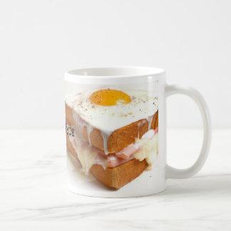 CroqueMadame aka Mrs. CRUNCH Classic White Coffee Mug
