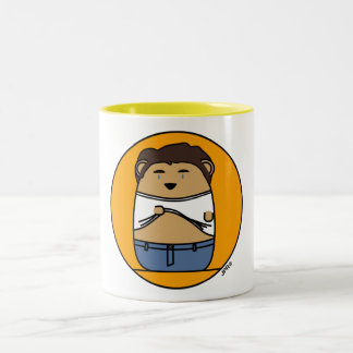 Croquepisco Kyle XY Hamster Two-Tone Coffee Mug