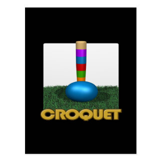 Croquet 2 postales