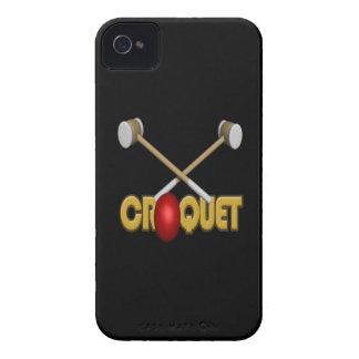Croquet 3 iPhone 4 Case-Mate protectores
