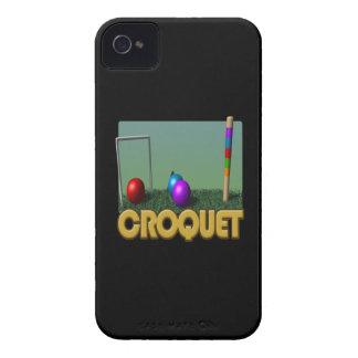 Croquet 5 Case-Mate iPhone 4 funda