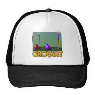 Croquet 5 gorro de camionero
