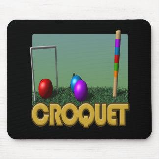 Croquet 5 mousepad