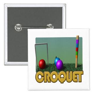 Croquet 5 pin cuadrado