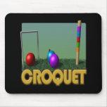 Croquet 5 tapete de ratones