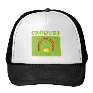 Croquet 6 gorro de camionero