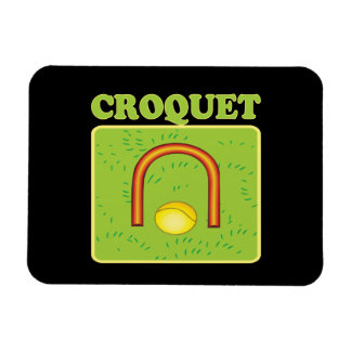Croquet 6 imán flexible