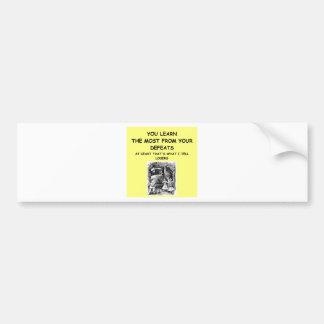 croquet car bumper sticker