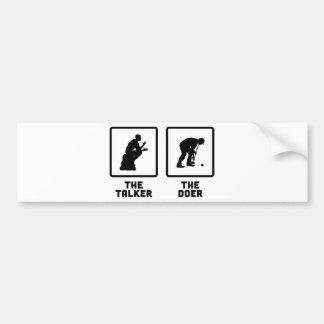 Croquet Bumper Sticker