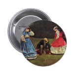 Croquet By Homer Winslow (Best Quality) Buttons