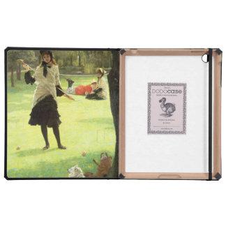 Croquet, c.1878 iPad protector