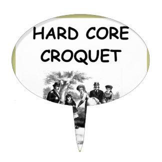 croquet cake picks
