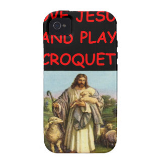 CROQUET iPhone 4/4S COVER