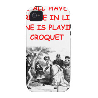 CROQUET iPhone 4 COVER