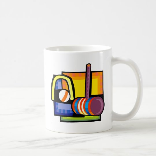 Croquet Coffee Mug