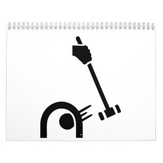 Croquet de Crocket Calendarios