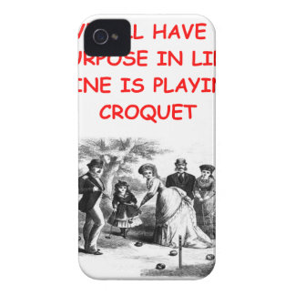 CROQUET Case-Mate iPhone 4 CARCASA
