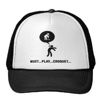 Croquet Gorras