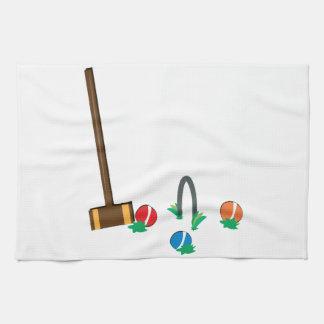 Croquet Hand Towel