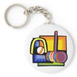 Croquet Keychain