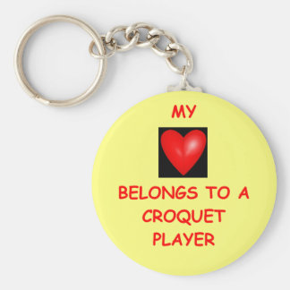 croquet key chains