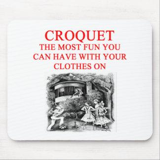 CROQUET MOUSE PAD