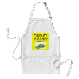 croquet palyer adult apron