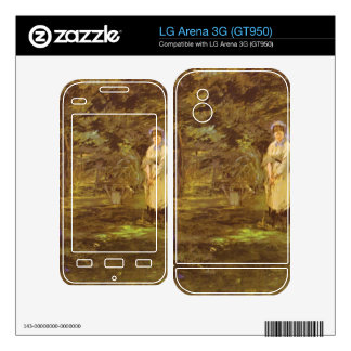 Croquet Party by Edouard Manet Decal For The LG Arena 3G