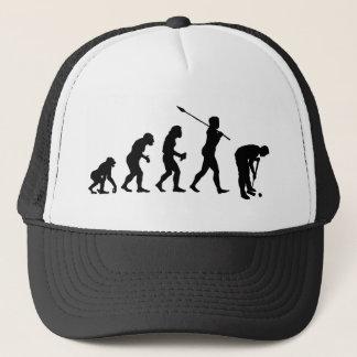 Croquet Player Trucker Hat