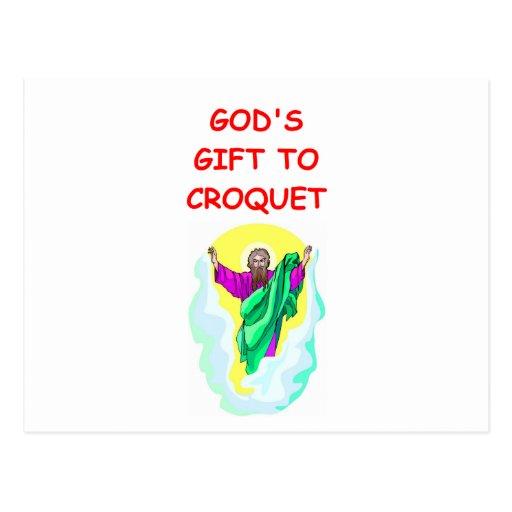 croquet postal