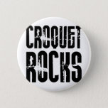 Croquet Rocks Button