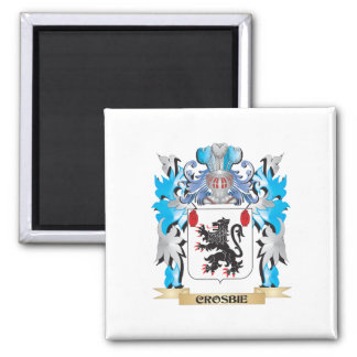 Crosbie Coat of Arms - Family Crest Fridge Magnet