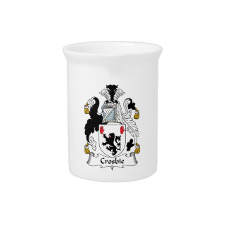 Crosbie Family Crest Drink Pitchers
