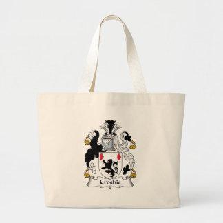 Crosbie Family Crest Jumbo Tote Bag