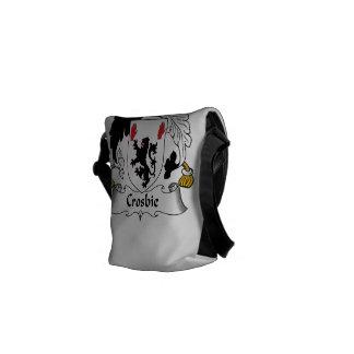 Crosbie Family Crest Messenger Bag