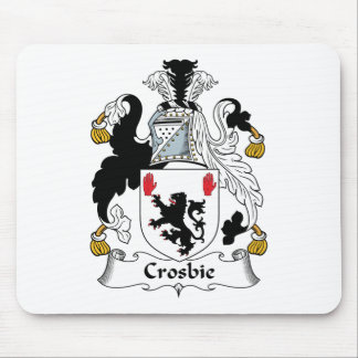 Crosbie Family Crest Mouse Pad